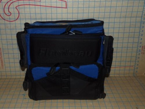 Large Flambeau Soft Tackle Bag Fishing Box W 5 Utility Bins (Holds 8 Containers)