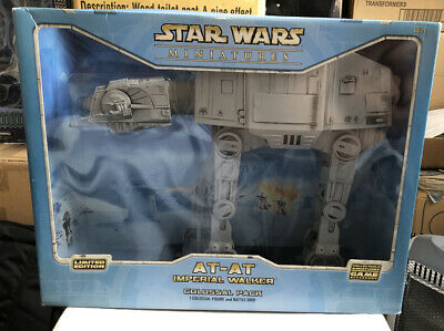 Star Wars Miniatures AT-AT Imperial Walker Colossal Pack New