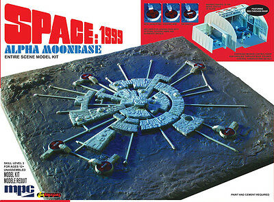 Space 1999 Moonbase Alpha Model Kit ( All New Kit ) / Gerry Anderson Eagle 1