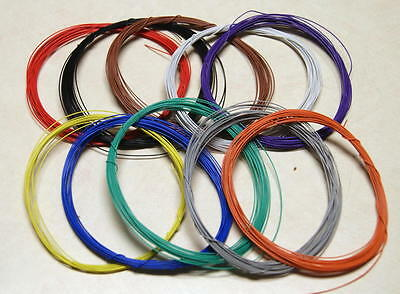 Usa Shipping - 50 Feet 30 Awg Wrapping Wire Chose From 10 Colors