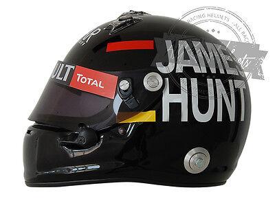 Kimi Raikkonen 2012 Monaco GP Tribute James Hunt F1 Full Scale Replica Helmet, used for sale  Hollywood