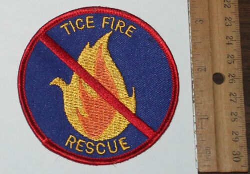 TICE FIRE RESCUE Fort Myers Lee County Florida FL Fla FD patch