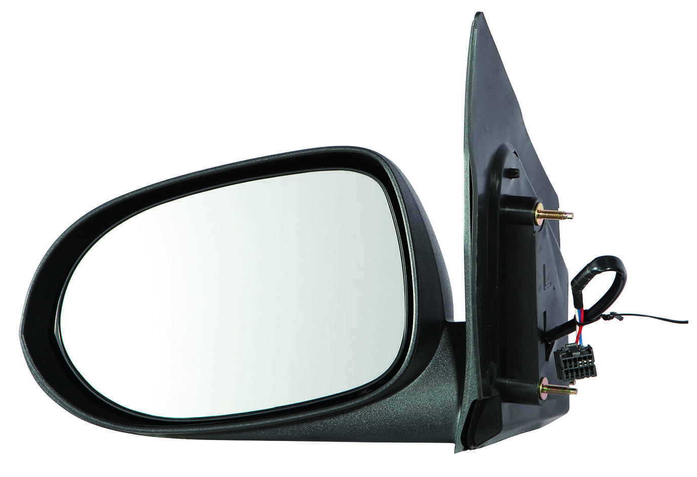 5115039AC CH1320265 New Mirror Driver Left Side Power Textured Black Caliber