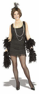Chicago Flapper Black Speakeasy 20's Fancy Dress Up Halloween Sexy Adult Costume](Chicago Halloween Costume)