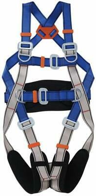 5d-ring Full Body Safety Harness Seat Belt Fall Protection Construction Harness