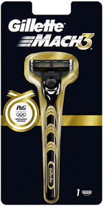 Gillette-Mach-3-Manual-Razor-Golden-Olympic-Limited-Edition