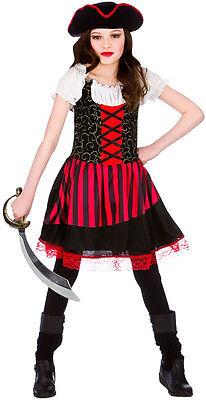 Kinderkostüm NEU - Mädchen Karneval Fasching Verkleidung Kos (Piraten Mädchen)