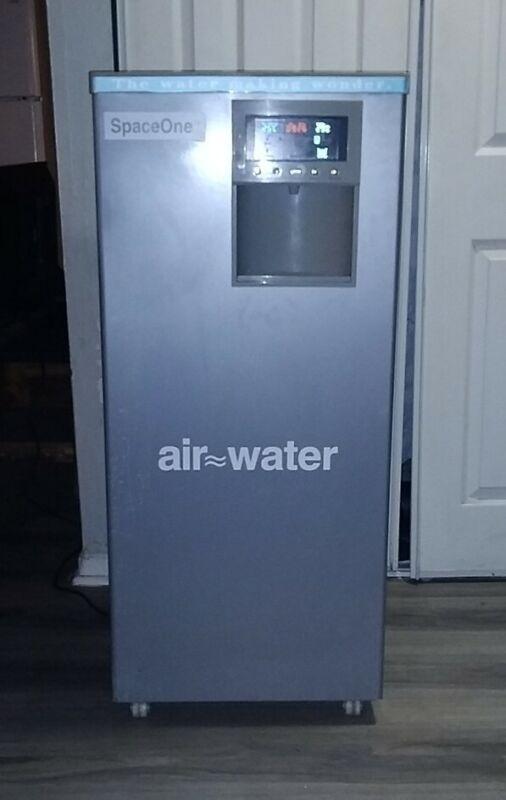 Space One Atmospheric Water Generator: Turns Air into Water