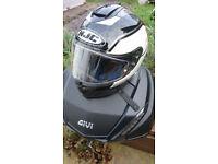 HJC is17 motorbike helmet size L