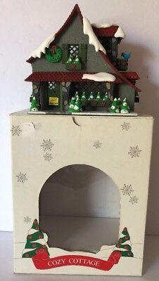 "Vintage DEPT 56 Hide A Way Hollow ""COZY COTTAGE"" Christmas Village #5358-8"