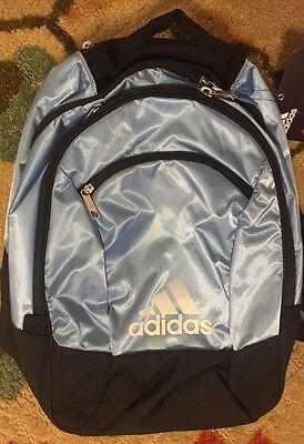 NWT Adidas Climacool Striker Team Backpack Carolina Blue