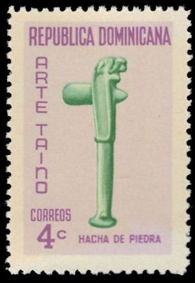 "DOMINICAN REPUBLIC 650 (Mi921) - Taino Art ""Stone Hatchet"" (pf90340)"