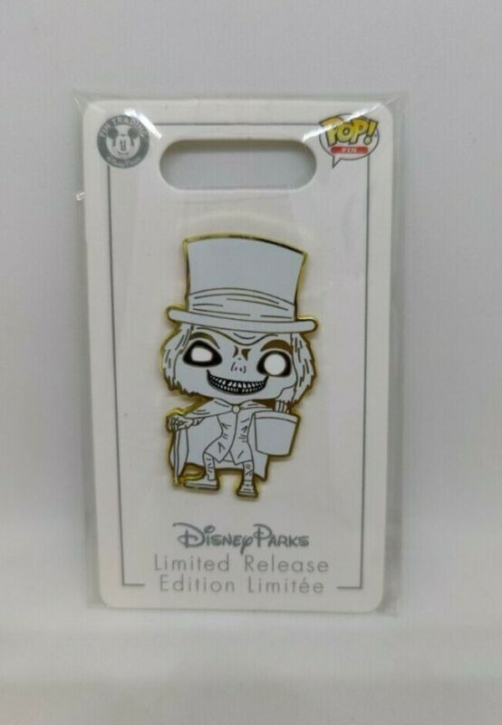 Hatbox Ghost Haunted Mansion Funko Pop Limited Release Disney Pin