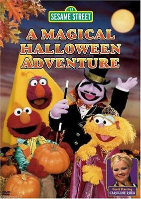 A Magical Halloween Adventure - Sesame Street (DVD, - A Magical Halloween Adventure Dvd