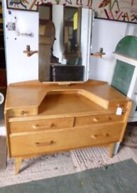 Original gplan Ernest Gomme dressing table chest of drawers
