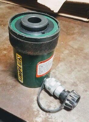 Simplex Rc202a Hollow Hydraulic Cylinder 20 Ton 2 Stroke Free Shipping