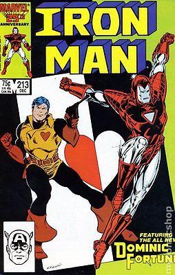 Iron Man #213 (1986) Marvel Comics