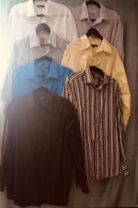 MOVING MUST SELL LOT DRESS SHIRT PANTS
