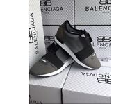 Men's balenciaga runners grey and black size 8