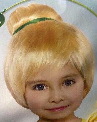 Disney Child's Tinker Bell Fairy Wig Halloween Costume Hair Accessory