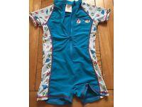 Swimming wet suit 98-104cm