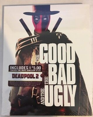 The Good The Bad And The Ugly  Blu Ray  Deadpool Photobomb Slipcover Exclusive