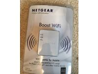 Unopened Netgear WiFi booster