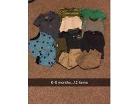 6-9 month boys bundle