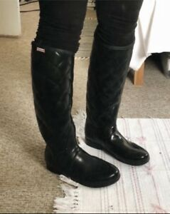 Hunter boots - size 8 - $100