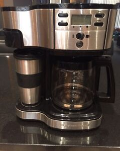 Stainless Steel Hamilton Beach 2 Way Coffee Maker