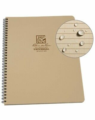 Rite In The Rain 973t All-weather Universal Spiral Notebook Tan 8 12 X 11