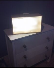 Large Lumie Sad Lamp.