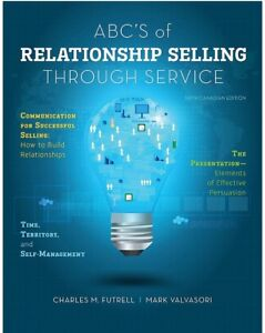 ABCs of relationship selling through service 6th