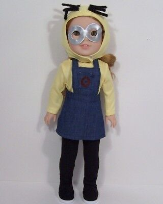 Despicable Me Minion Halloween Costume Doll Clothes For 14