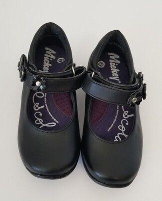 Girl black Mary Jane uniform student school Shoe footwear girls Floral Girl Black Footwear