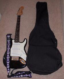 3/4 Squier electric guitar