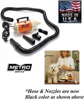 METRO Pro Air Force Cadete Cuidado Del Perro Compacto Secador Pelo Abrigo...