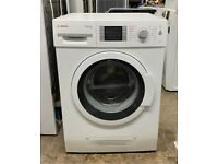 Bosch washer dryer 7+4kg new model beautiful condition