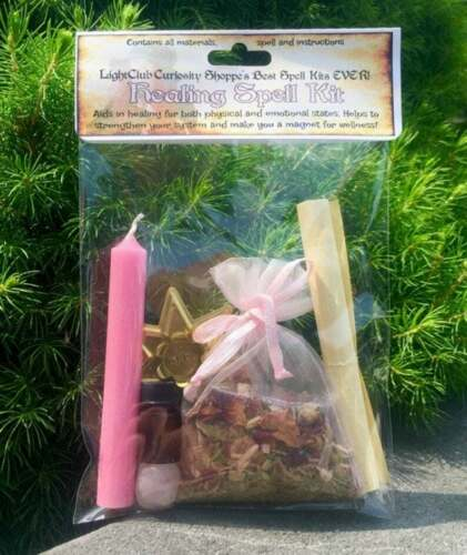 Spell Kit for Healing - Health - Wellness