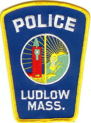 Ludlow Police Patch Massachusetts NEW