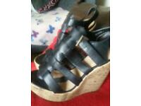 New look wedge sandal size 7