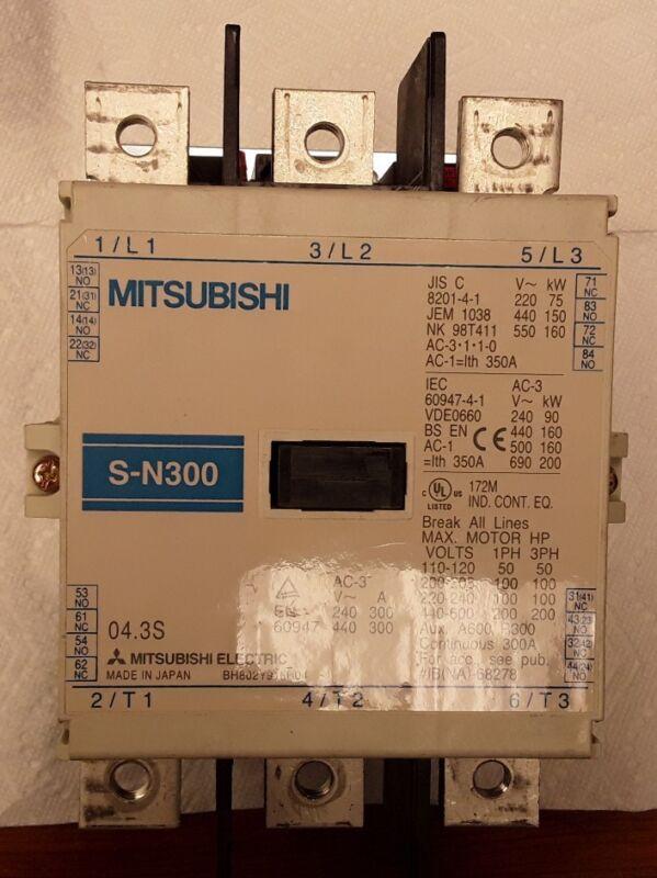 Mitsubishi S-N300 Contactor, BH802Y916H04