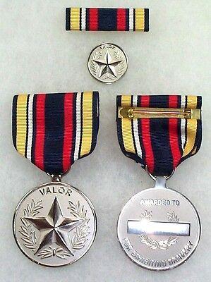 RARE! US Navy Superior Civilian Medal for Valor set, complete set of 3