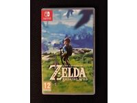 The Legend of Zelda: Breath of the Wild for Nintendo Switch (Like New)