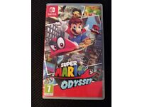 Super Mario Odyssey for Nintendo Switch (Like New)