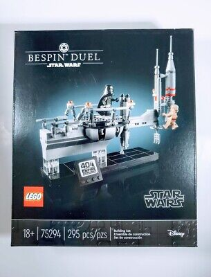 Lego Star Wars Disney Bespin Duel 75294 40th Anniversary 2020 New In Box Sealed