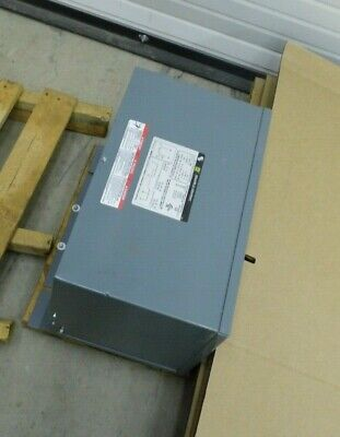 Square-d 15t68f Type St 15 Kva 3 Phase Insulated Transformer