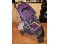 Graco Evo Mini Stroller/Pushchair in Nightshade