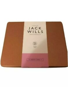 Jack Wills Storage Tin Gold. (Empy Tin Contents And Paper Sleeve Not Included)