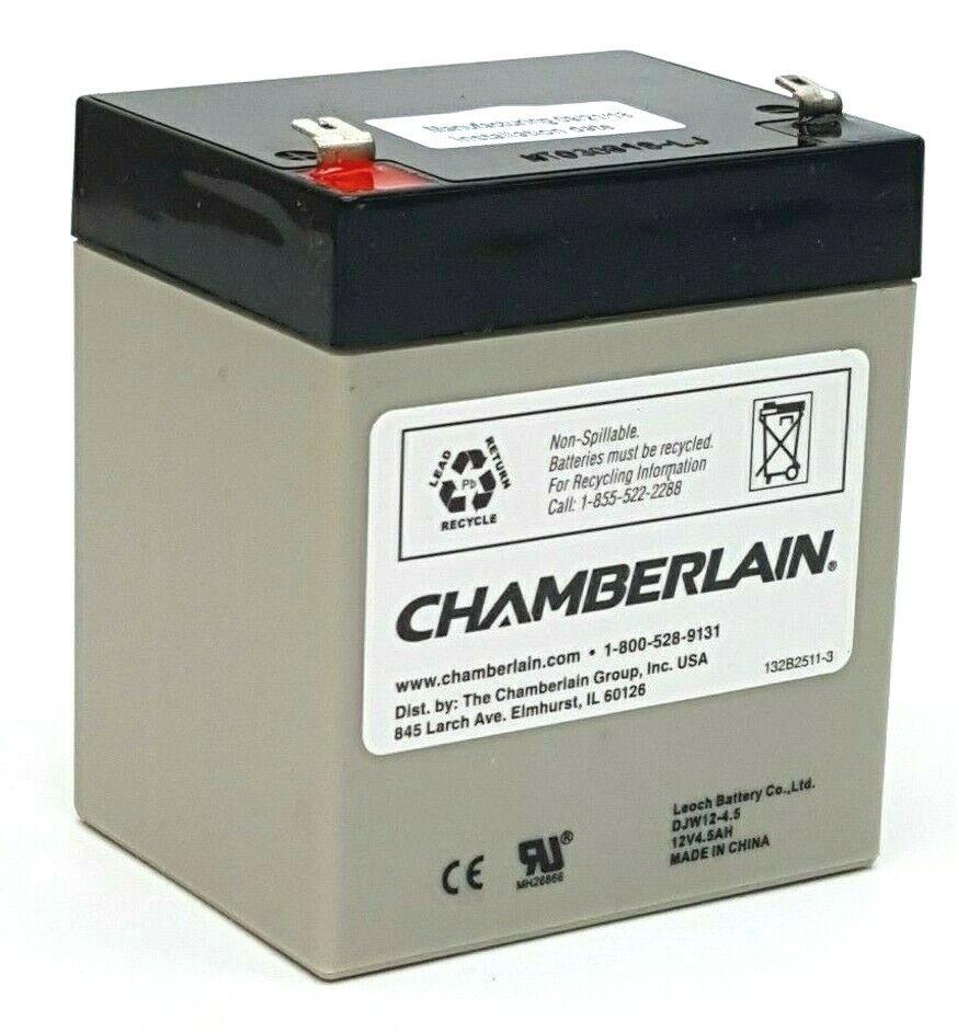 garage door opener backup system replacement battery